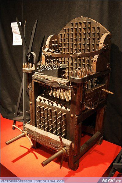 Middle-Age Torture Chair
