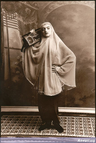 Radio - Artistic Photos of Iranian Women