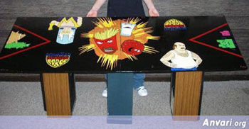 ATHF Beer Pong Table - Beer Pong Tables