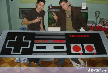 NESConroller Beer Pong Table - Beer Pong Tables