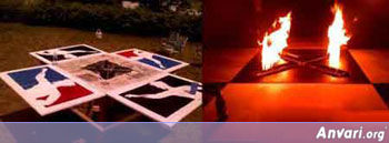 OnFire Beer Pong Table - Beer Pong Tables