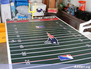 Patriots Beer Pong Table - Beer Pong Tables