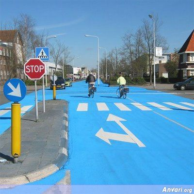 River City 02 - Blue Street in Netherlands