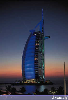 Burj Al Arab - at night - Burj Alarab