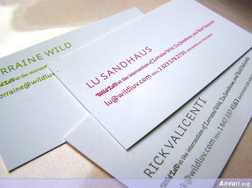 Business Card Design 064 - Business Cards
