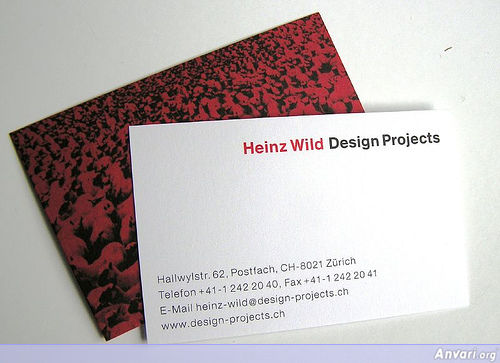 Business Card Design 462 - Business Cards