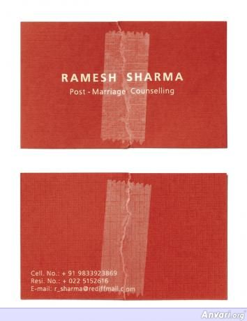 Ramesh-Sharma.preview - Creative Business Card Design Ideas
