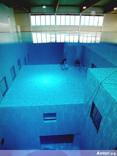 Pool 13 - Deepest Pool in the World