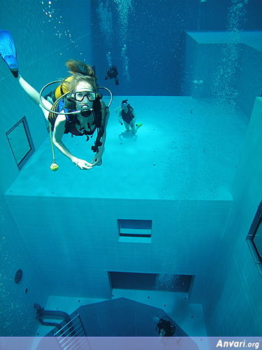 Pool 26 - Deepest Pool in the World