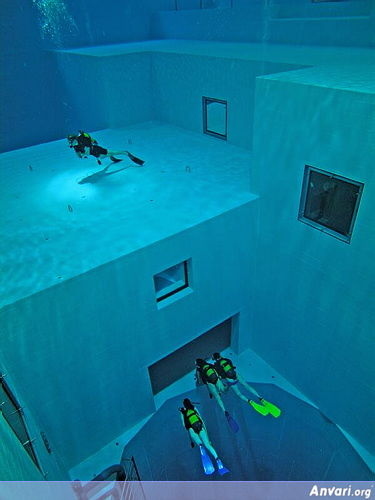 Pool 28 - Deepest Pool in the World