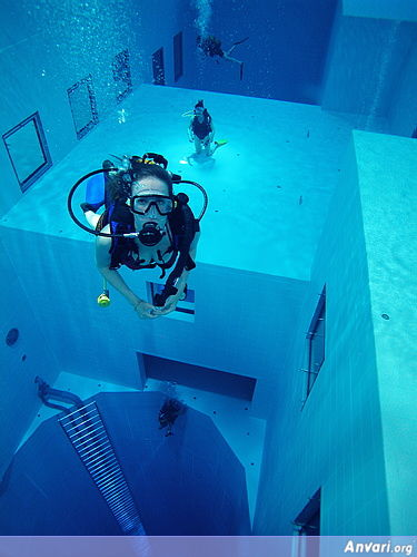 Pool 5 - Deepest Pool in the World