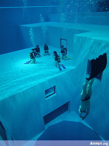 Pool 7 - Deepest Pool in the World