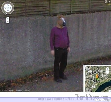 Horsehead Creep - Embarassing and Hilarious Google Maps Moments