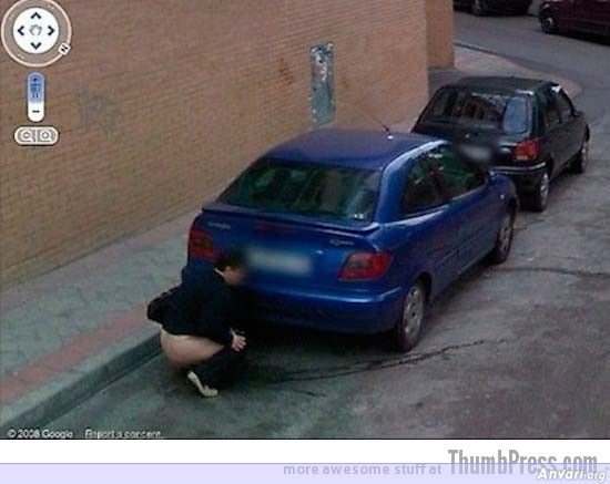 Public Pee - Embarassing and Hilarious Google Maps Moments