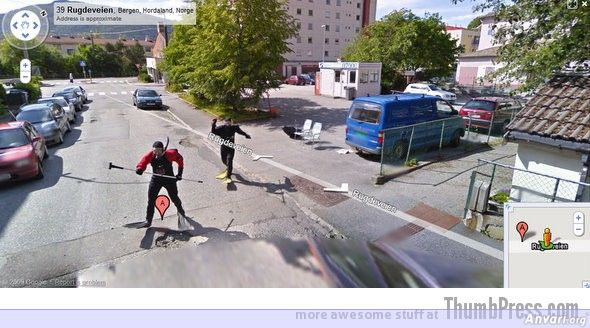 Scuba Divers Spotted - Embarassing and Hilarious Google Maps Moments