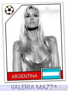 argentina - FIFA World Cup Country Cards