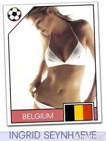 belgium - FIFA World Cup Country Cards