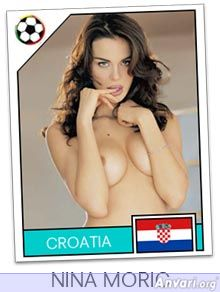 croatia - FIFA World Cup Country Cards