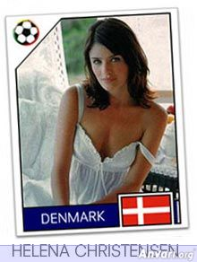 denmark - FIFA World Cup Country Cards