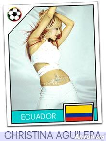 ecuador - FIFA World Cup Country Cards