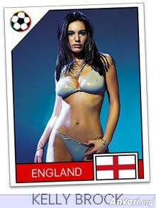 england - FIFA World Cup Country Cards