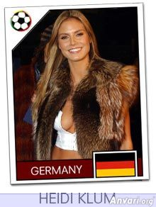 germany - FIFA World Cup Country Cards