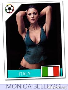 italy - FIFA World Cup Country Cards