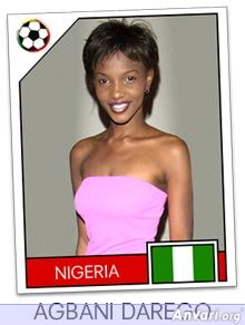 nigeria - FIFA World Cup Country Cards