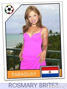 paraguay - FIFA World Cup Country Cards