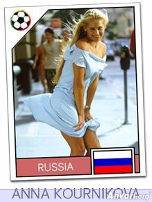 russia - FIFA World Cup Country Cards