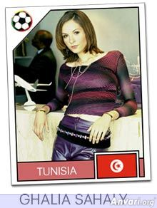 tunisia - FIFA World Cup Country Cards