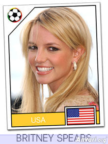 usa - FIFA World Cup Country Cards