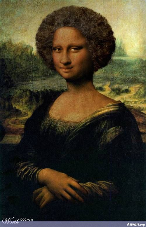 Photoshopped Artwork IF - Famous Artworks Photoshopped