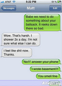 03 - Funniest iPhone Autocorrects
