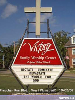 Devestate - Funny Church Signs