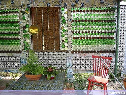 1 - House Built from Beer Cans