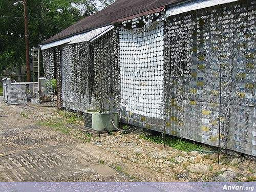 6 - House Built from Beer Cans