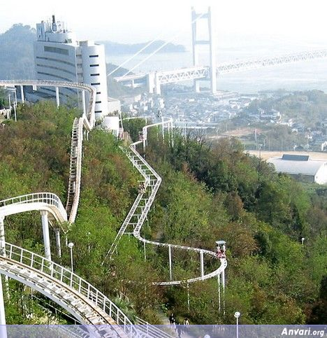 Pedal 2 - Human Powered Roller Coaster in Japan