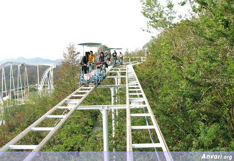 Pedal Off You Go - Human Powered Roller Coaster in Japan