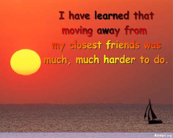 I Have Learned Friends - I Have Learned