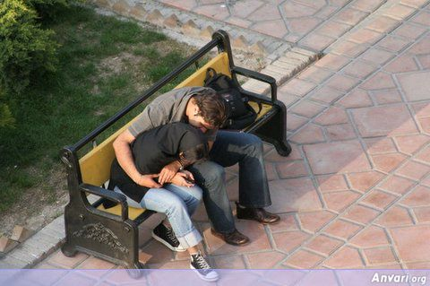 Make Out 1 - Iranian Boyfriend and Girlfriend in Park