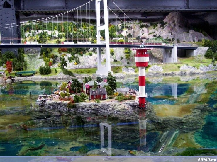 17 Miniature Wonderland - Model City with All Attractions