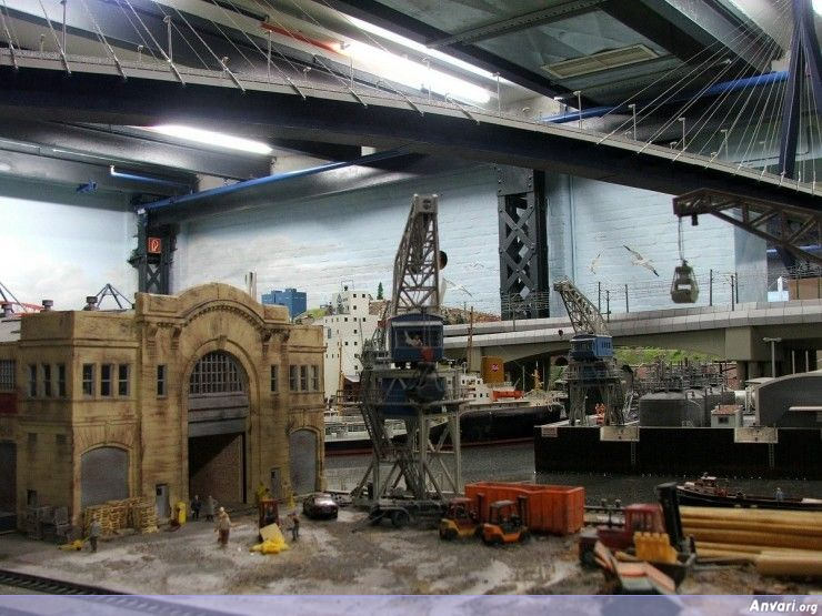 35 Miniature Wonderland - Model City with All Attractions