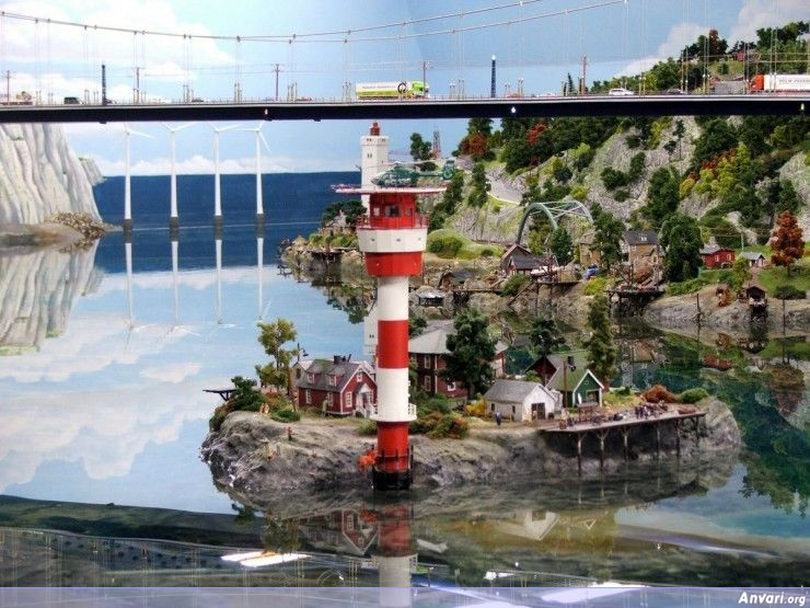 43 Miniature Wonderland - Model City with All Attractions