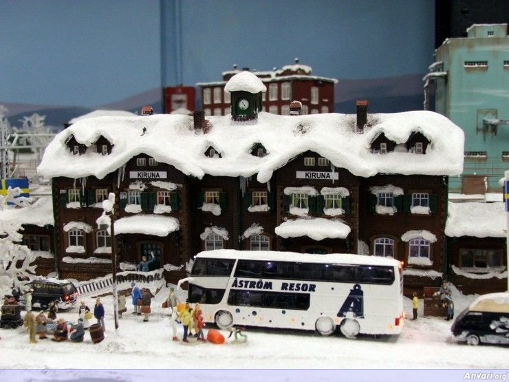45 Miniature Wonderland - Model City with All Attractions