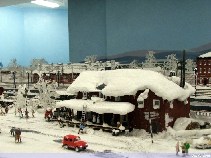 46 Miniature Wonderland - Model City with All Attractions