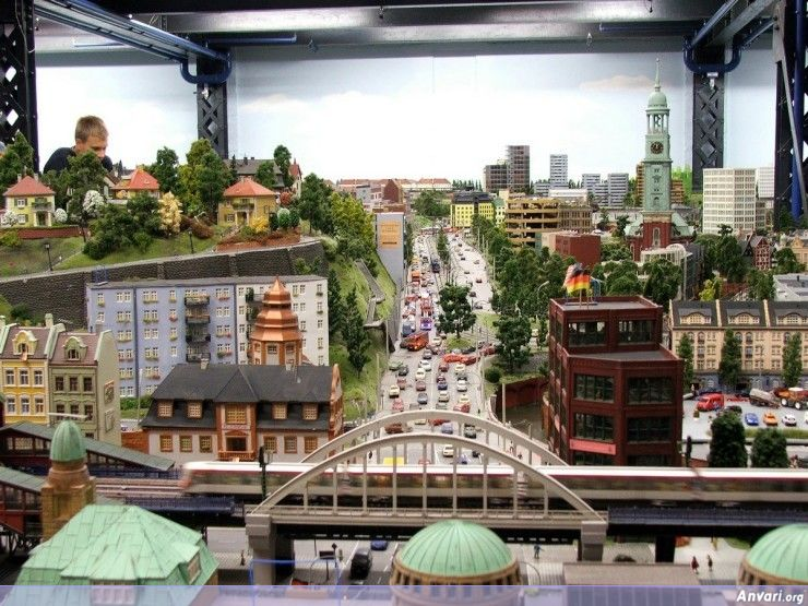 56 Miniature Wonderland - Model City with All Attractions