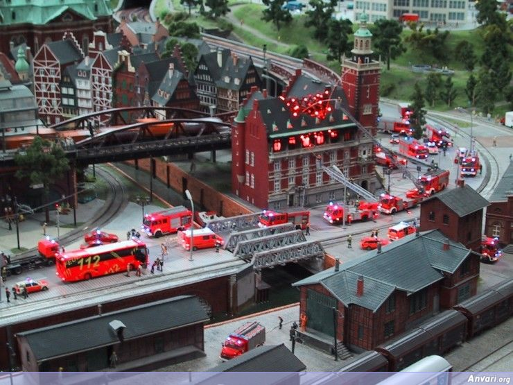 71 Miniature Wonderland - Model City with All Attractions