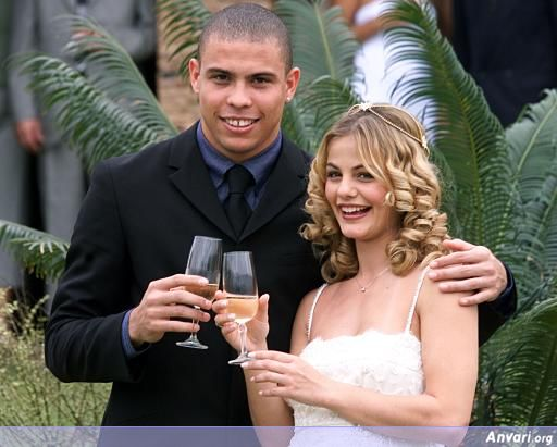 ronaldo1 - Ronaldo and His Wife