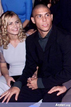 ronaldo2 - Ronaldo and His Wife